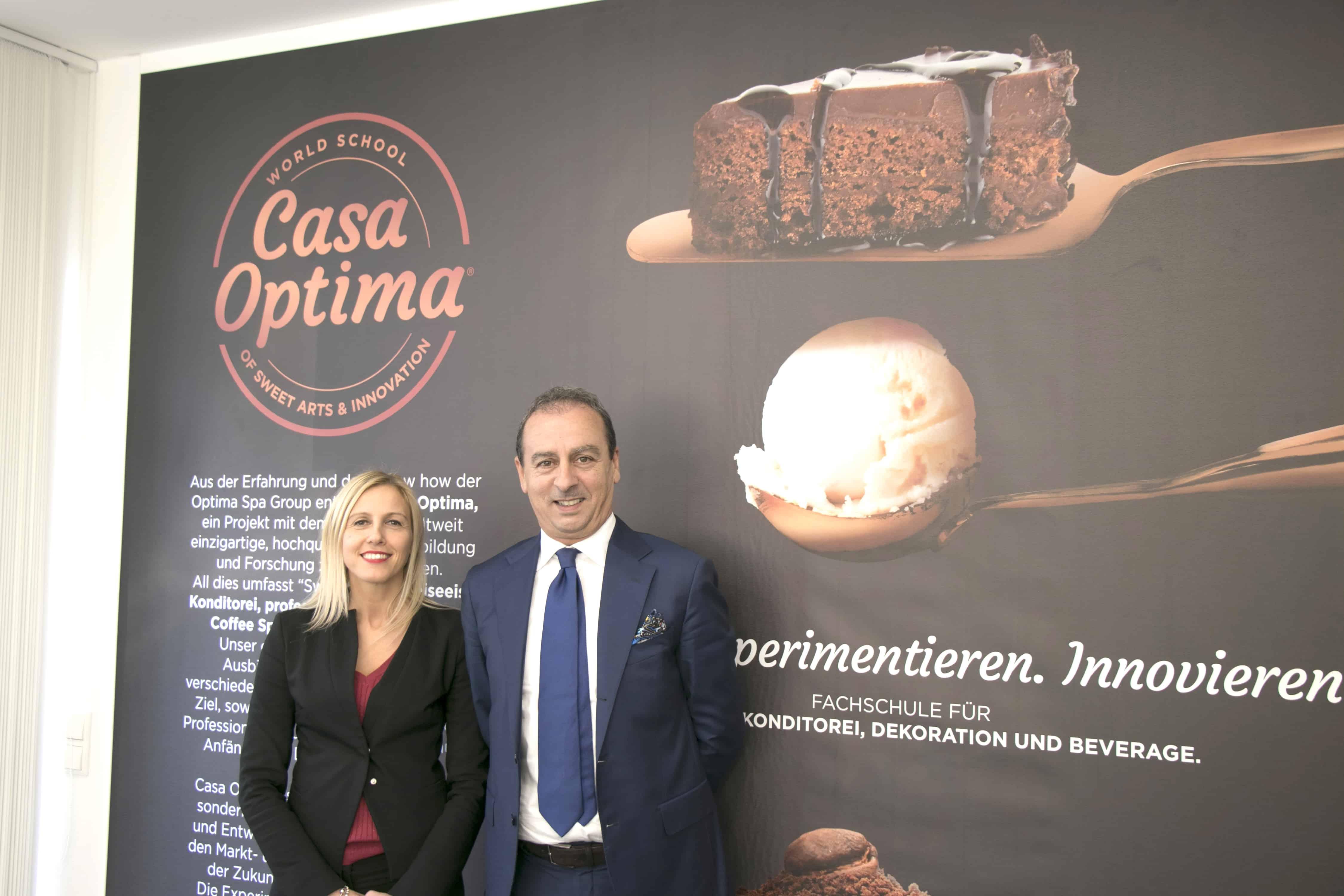 """Willkommen in Casa Optima Deutschland Hohe Form der Ausbildung in """"Sweet Arts"""" für deutsche Profis"""