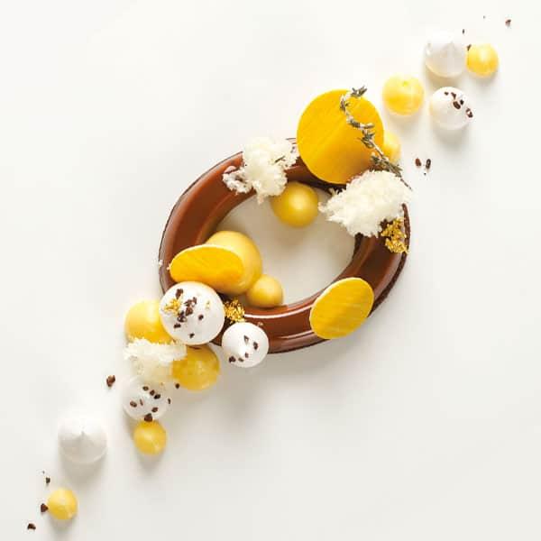 Nougat und Zitrone